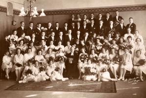 Jauniesvētītie draudzes locekļi, 1928. g.