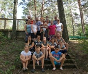 Draudzes vasaras nometnē