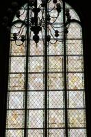 Lielās zāles vitrāža