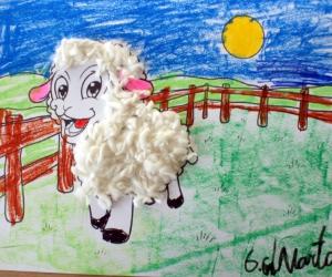 Mūsu darbiņi. Pazudusī aitiņa