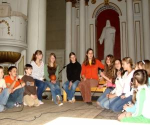 Jēzus baznīcā 2007. gada 8. maijā