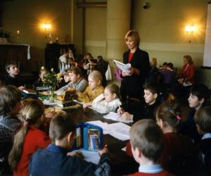 1998.-1999. mācību gads, skolotāja Una Apsalone