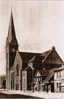 Jaunā Sv. Ģertrūdes baznīca, 20. gs. sākums